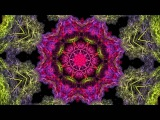 Deep, Dub Reggae Mix with kaleidoscope visual