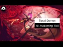 Kritika Blood Demon All Awakening Skill LV 10 Red Blue