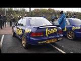 Subaru 555 group A pure sound at Prodrive