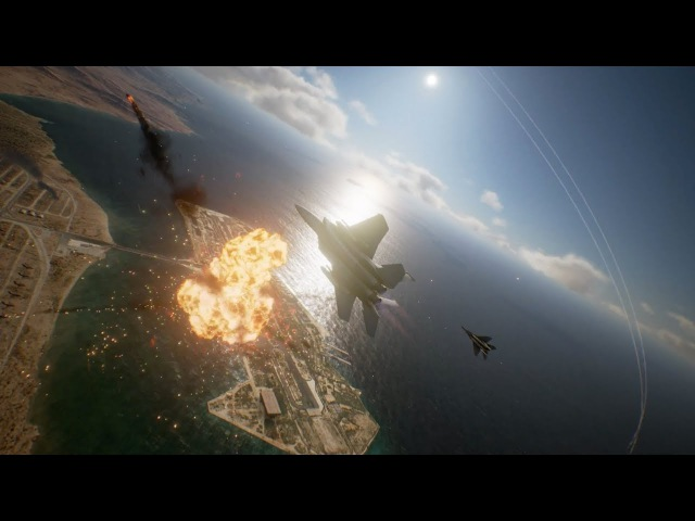 ACE COMBAT 7 SKIES UNKNOWN Gamescom Trailer PS4 XB1 PC