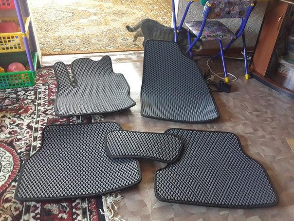 Продам оригинальные автомобильные коврики EVA, на многие модели авто и