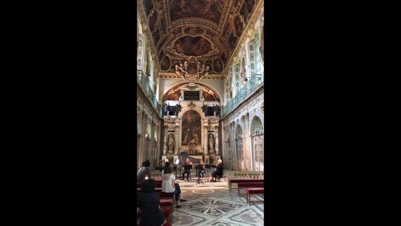 Часовня Святой Троицы дворца Фонтенбло