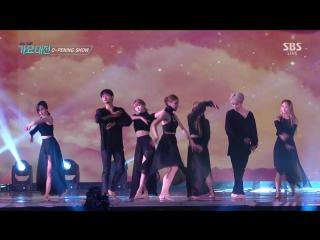 161226 Mina, Momo - Special Dance Stage @ SBS Gayo Daejun