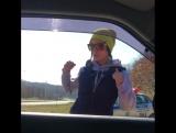 Девушку оштрафовала полиция, но она не расстраивается, танцует под патимейкер)) Штраф, полиция, позитив