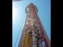 башня свободного падения адреналин зашкаливает
