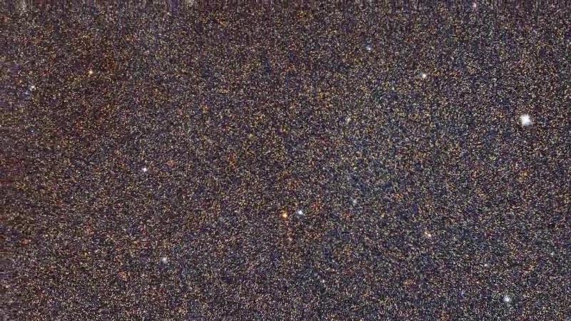 Галактика Андромеда. Телескоп Хаббл. 2015 г.