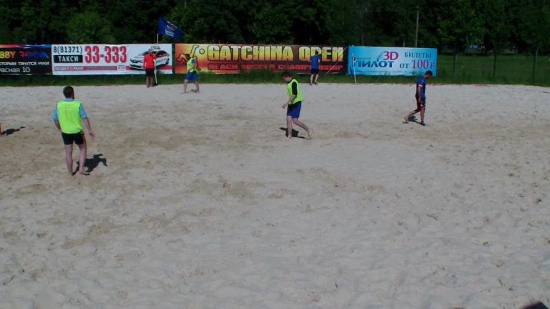 Олимпия - Б.Ижора , 1 тайм, Кубок ЛЛПФ Зона Гатчина 2017