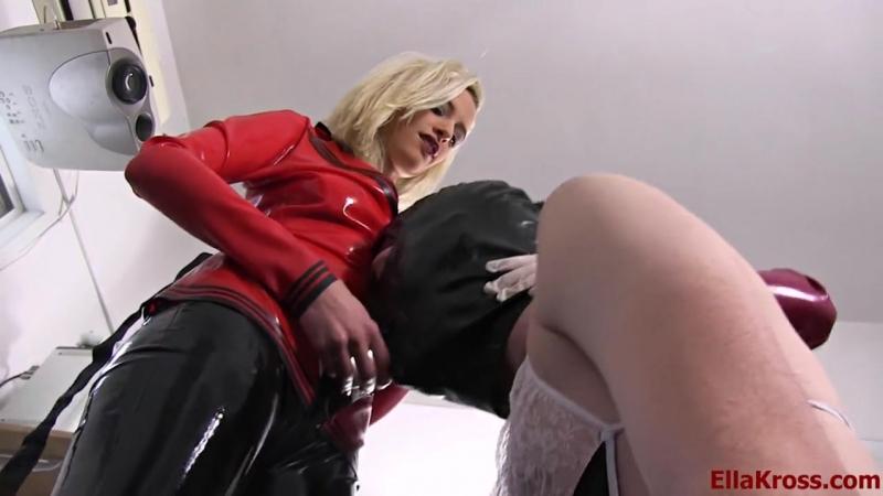 Ella Kross, double fucked [Mistress Leather FemDom Anal Facesitting Strap On Latex Fetish BDSM Bondage Hardcore]