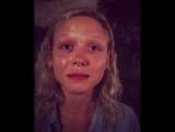 Naomi Battrick (instagram Steven Waddington) behind the scenes video (2)