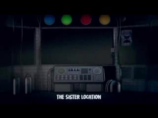 [SFM] FNAF SISTER LOCATION SONG_ Клип фнаф 5