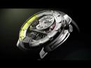 Часы HYT модель H1, первые в мире часы с часовым механизмом на основе трехосевого турбийона.