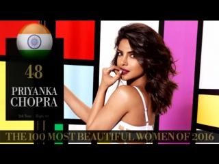 Саная  Ирани на 58 месте The 100 Most Beautiful Women Of 2016
