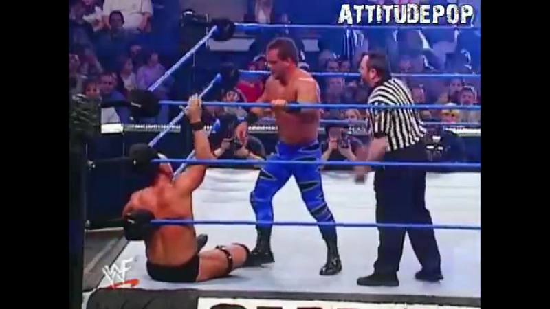 [Crossface] Stone Cold Vs Chris Benoit - Smackdown 15.02.2001