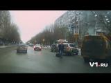 Драка на дороге в Волгограде