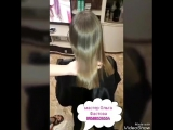 кератиновое выпрямление восстановление волос плюс стрижка для Ксении