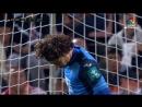 Paradón de Ochoa al despejar un duro disparo de Raúl García YouTube