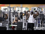 Akim Williams &amp Aaron Clark Train Delts &amp Arms