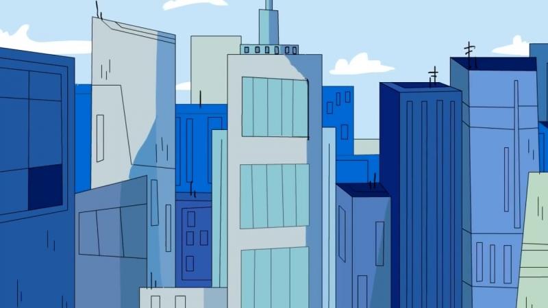 Гравити Фолз - 3 сезон 1 серия - Тэд Стрейндж в Грэвити Фоллс