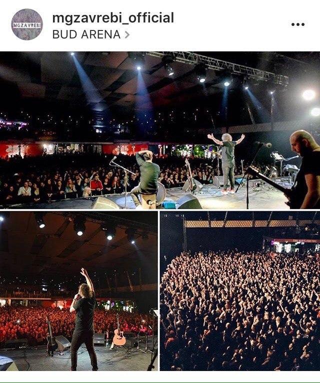 Фотографии с официального аккаунта группы в сети Instagram