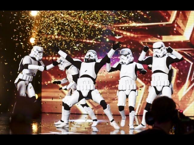 [Star Wars] Stormtrooper Dancing on Britain's Got Talent 2016