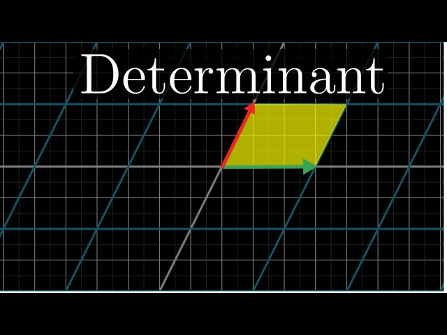 The determinant | Essence of linear algebra, chapter 5