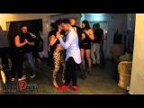 Joy William (Joy &amp Isabelle) &amp Dafna Revach dance Kizomba
