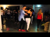 Joy William (Joy &amp Isabelle) &amp Ruth Goldschmidt dance Kizomba
