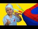 ИГРАЕМ В ДОКТОРА С УКОЛАМИ! Разноцветные УКОЛЫ В ПОПУ! Доктор ДЕЛАЕТ УКОЛЫ Bad Baby Pl...