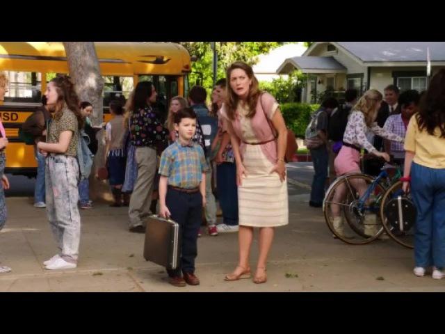 Видео к сериалу «Детство Шелдона» (2017 – ...): Трейлер в переводе Кураж-Бамбей (сезо...