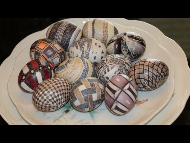 Как покрасить яйца на Пасху 12 способов за 15 минут!