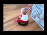 Ребенок и робот пылесос. Сборник прикольных видео