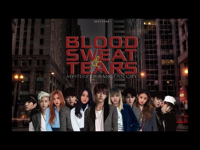 [WATTPAD] Blood Sweat Tears Mystery of Bangtan City - Chapter 61 (Teaser)