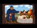 Гора самоцветов Большой петух The Giant Rooster Русская сказка