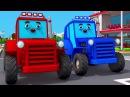 Трактор и Злой Экскаватор. Приключения Машинок. Мультики про машинки
