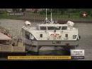 Первенец нового пассажирского флота России в Петербурге показали катамаран «Грифон»