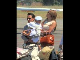 Jennifer Lopez &amp Marc Anthony and the kids