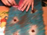 картина из шерсти видео лилия видео часть 1 picture of wool lily