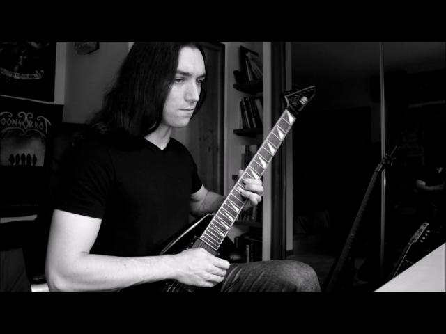 HATE Sea of Rubble Svarog's Mountain Guitar Solo Playthrough Napalm Records