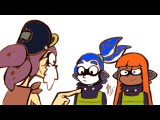 (ComicDub) Splatoon - How they are called Orange and Blue