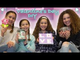 DIY Valentine's Day! (Haschak Sisters)