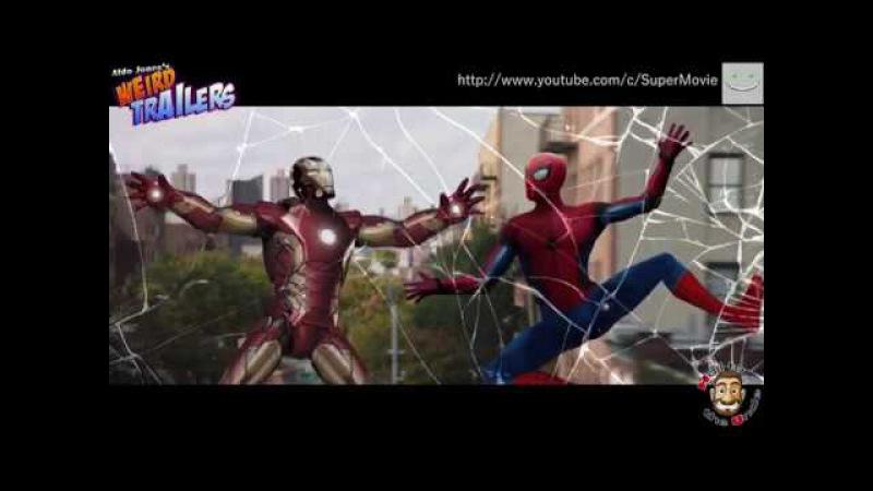 Человек Паук: Возвращение домой трейлер с приколами
