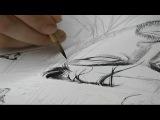 Takehiko Inoue Drawing Vagabond