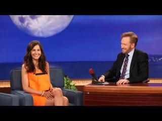 Camilla Belle on Conan - Part 01