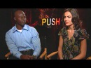 'Push' Djimon Hounsou Camilla Belle Interview