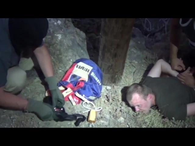 ФСБ показала видео задержания украинского диверсанта в Крыму - Видео - L!fe