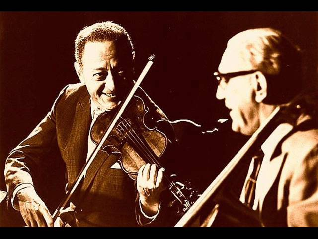 Brahms - Concerto pour violon et violoncelle - opus 102 - Heifetz - Piatigorsky