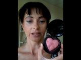 Монохромный макияж румянами Щедрое сердце Мэри Кэй. 24.07.17