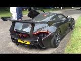 Mclaren P1 LM start up, accelerations and walkaround - Goodwood FOS 2016