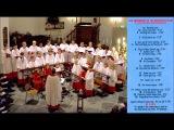 Boy soprano soloist of Roden Boys' Choir sings Ave Maria, Bach-Gounod, 1995