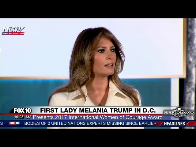 FULL EVENT: First Lady Melania Trump Attends International Women of Courage Awards in D.C. (FNN)